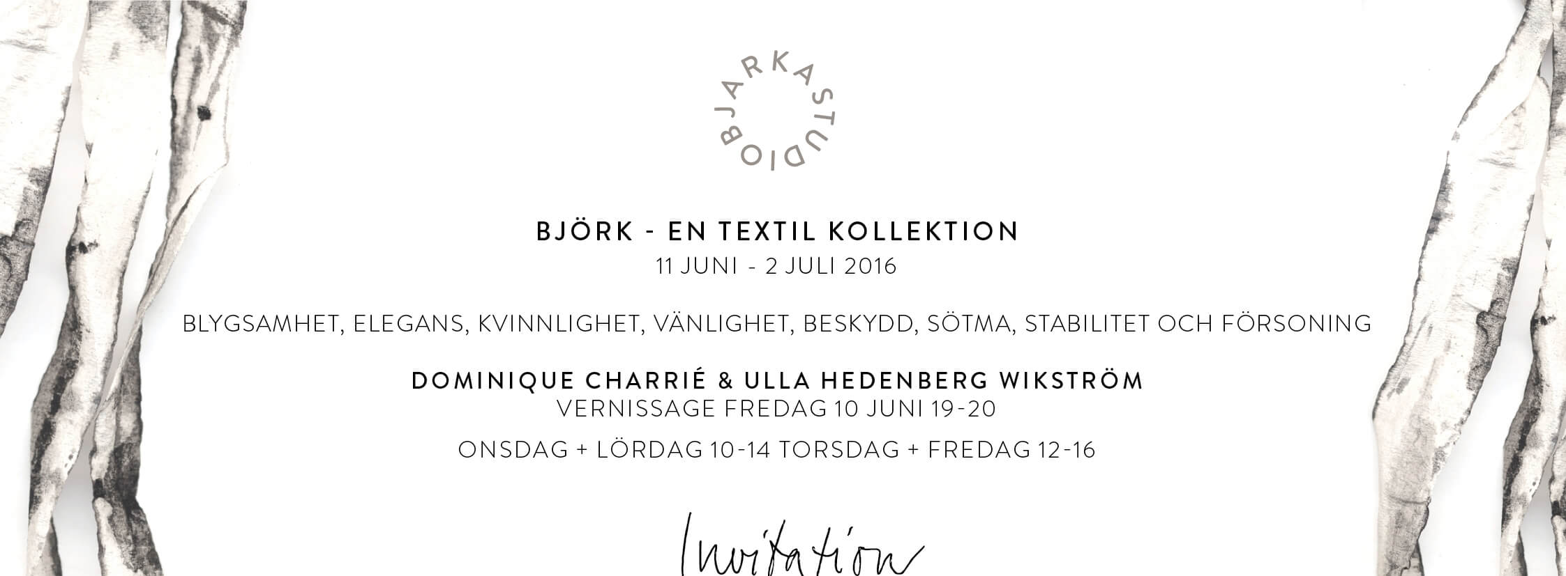 Exhibition @ Artspace Varberg. June 10- July 2nd